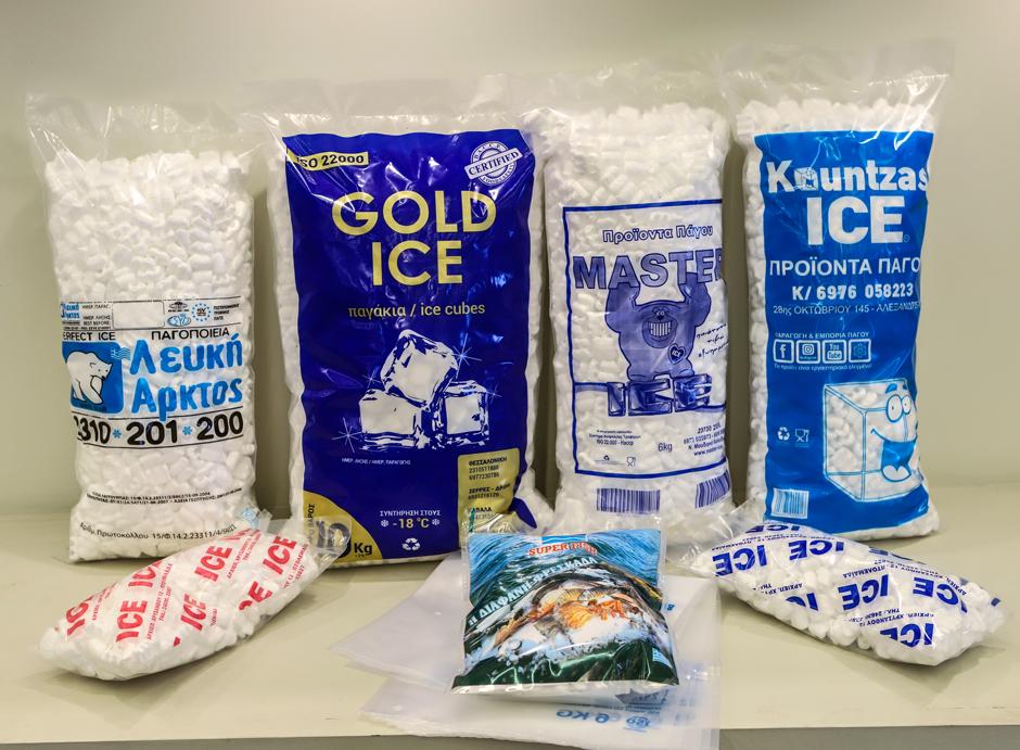 Συσκευασίες Πάγου και Κατεψυγμένων Τροφίμων